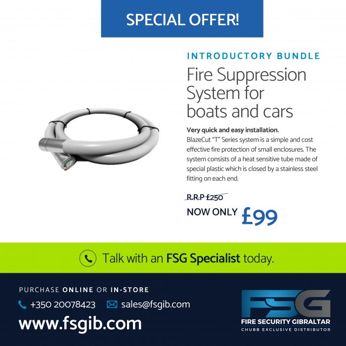 Fire Suppression System for boats and cars
